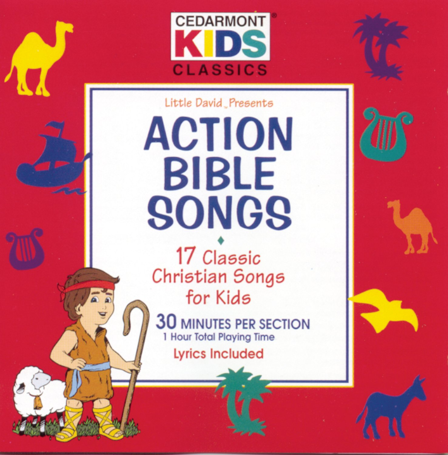 Action Bible Songs by Cedarmont Kids (Image #1)