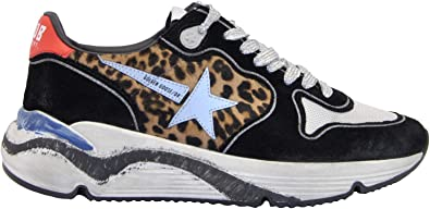 Golden Goose Running - Zapatillas Tipo Bota, Color Negro Size: 35 ...