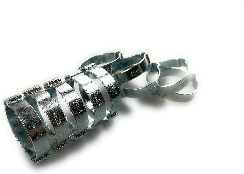 11-13mm TR Schlauchschellen Doppelohr 10 St/ück