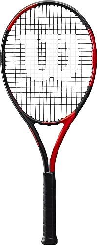 Wilson BLX Fierce Tennis Racket, Red Black, 4 1 2