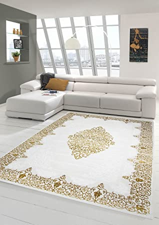 designer tapis contemporain tapis en laine heather tapis du salon tapis ornement crme beige or gre - Tapis Contemporain