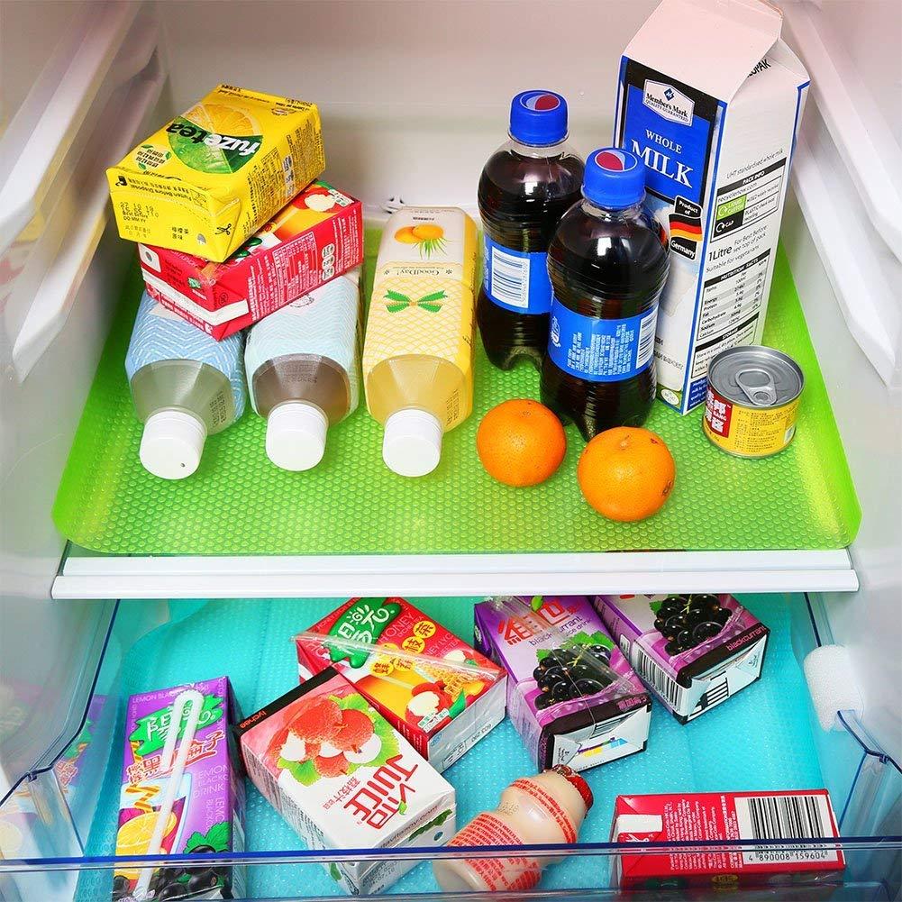 Liners del refrigerador Alfombras de refrigerador lavables ...