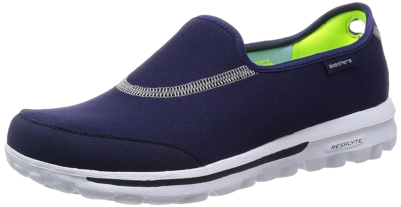 Skechers Gowalk Impress, Damen Sport-  Outdoor Sandalen  41 EU|Blau (Nvy)