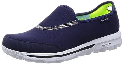 Skechers GO Walk 2, Damen Sneakers, Blau (NVY), 36 EU