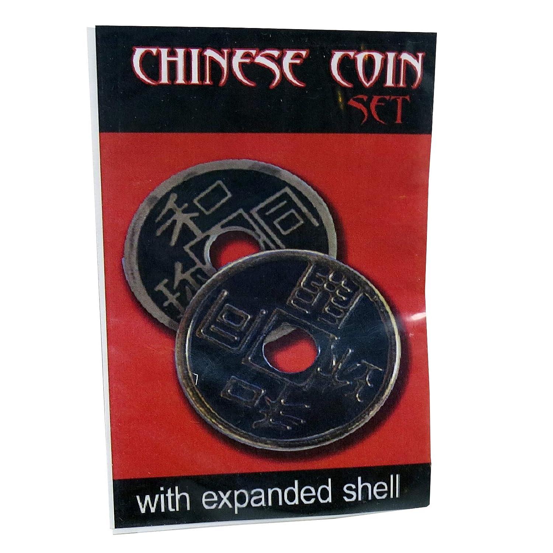 Royal Magic Chinesische M/ünze /½ Dollar Durchmesser blau Schale
