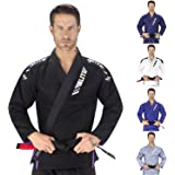 Elite Sports IBJJF Ultra Light BJJ Brazilian Jiu Jitsu Gi W/ Preshrunk Fabric & FREE BELT