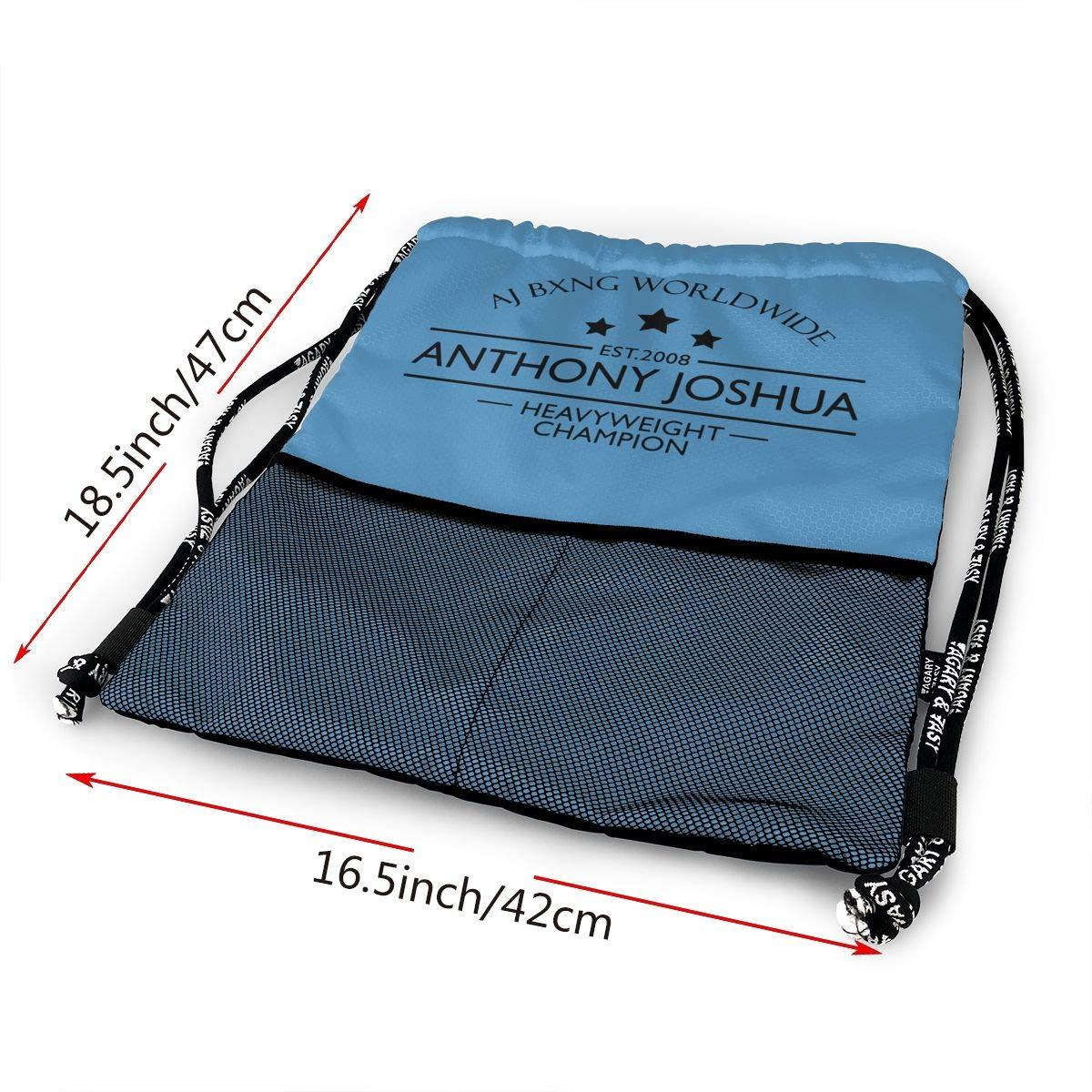 Drawstring Backpack Anthony-Joshua Sport Gym Hiking Yoga Travel Beach Bundle Backpack