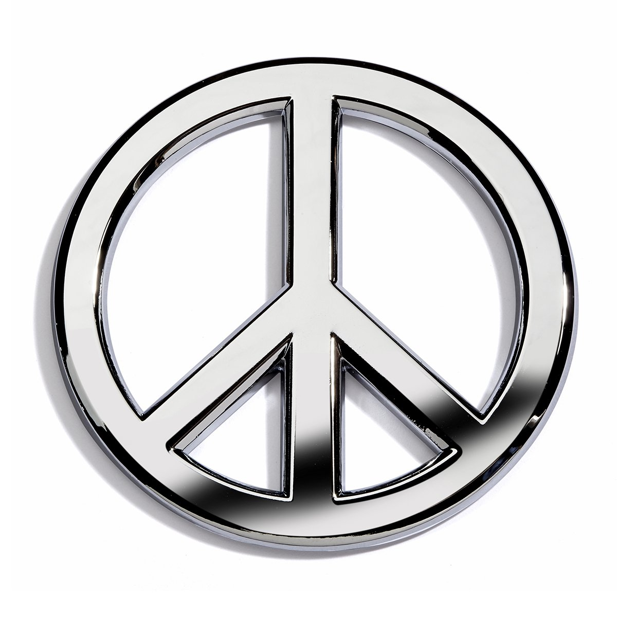 Amazon chrome peace sign car emblem by revolution car badges amazon chrome peace sign car emblem by revolution car badges automotive biocorpaavc