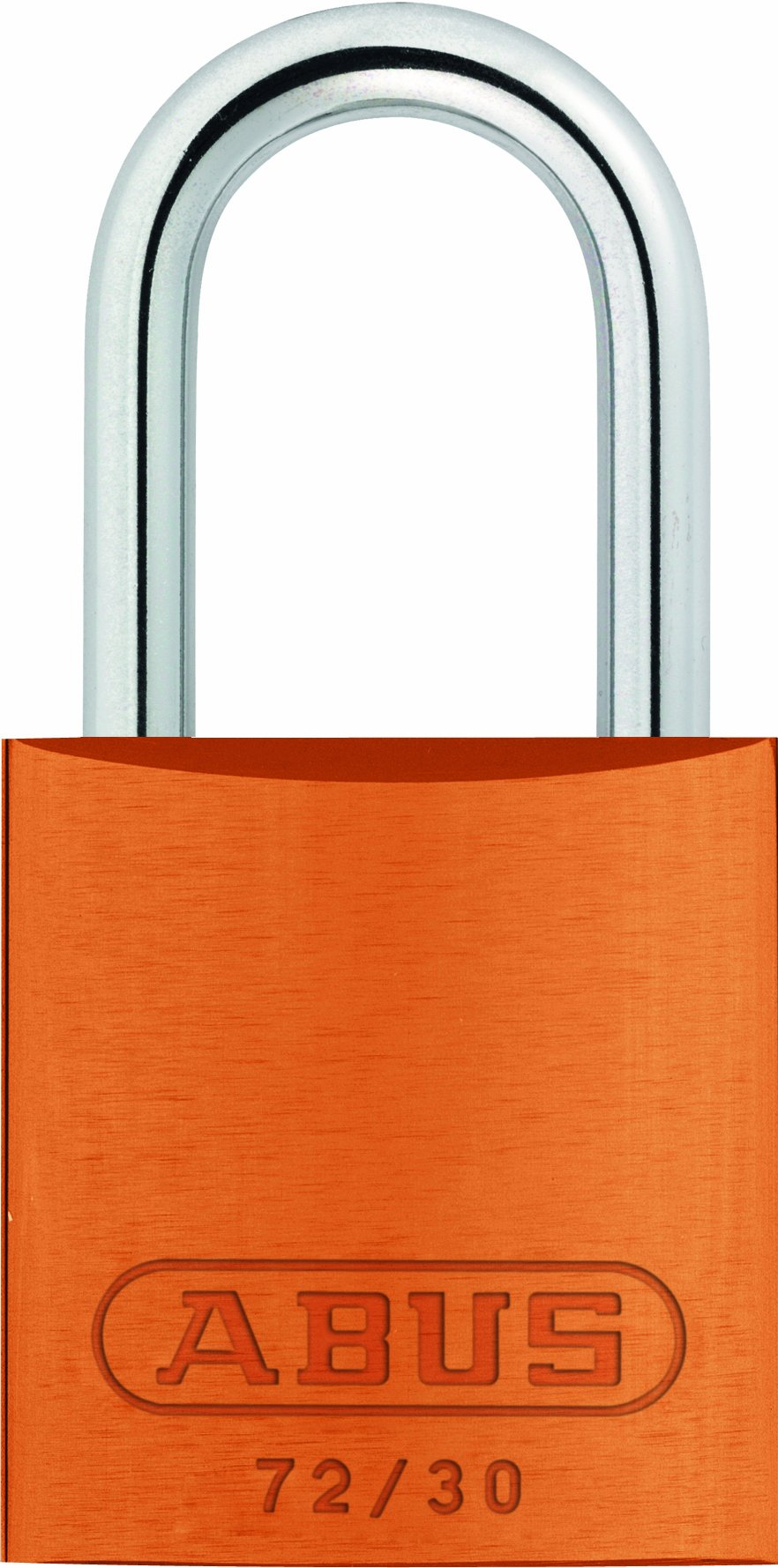ABUS 72/30 KD Safety Lockout Aluminum Keyed Different Padlock, Orange
