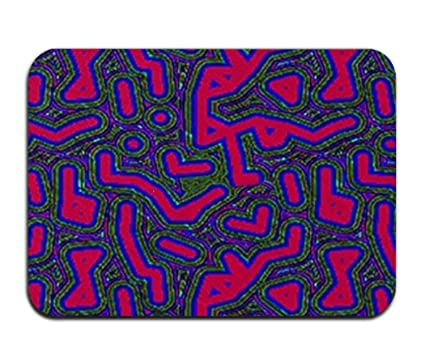 Amazon Com Cecil Beard Bright Colours Bathroom Kitchen Rug Mat