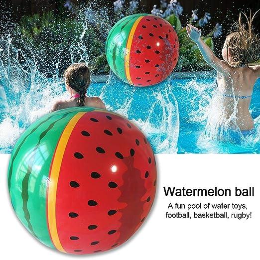 Juguete hinchable de bola de piscina de sandía para juegos de agua ...