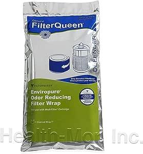 Genuine FilterQueen Filtro de carbón Enviropure Wrap: Amazon.es: Hogar