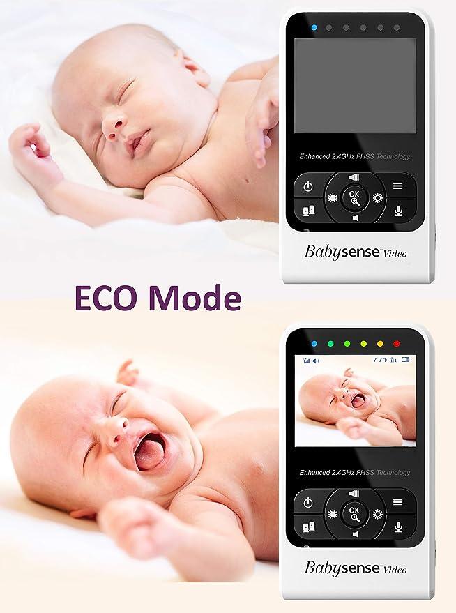 Nursery Baby Long Range Lullabies and High Capacity Battery ...