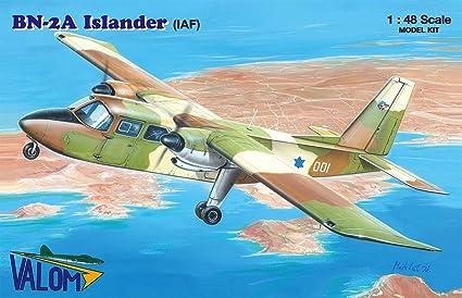 Amazon.com: Valom Britten-Norman BN-2 Islander in Israeli ...