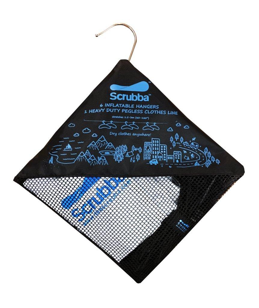 Kit de Secado Scrubba – Portátil, Secador de Ropa Compacto para Viajar, Camping, Senderismo HANDL-001