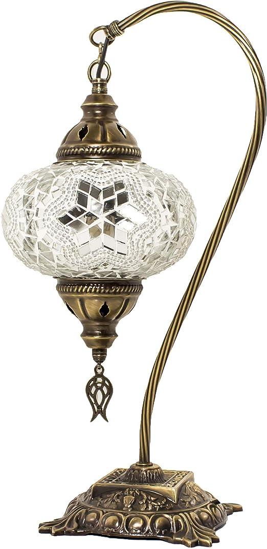 Lámparas de mesa y mesilla de noche - Lámpara de mesa de mosaico ...