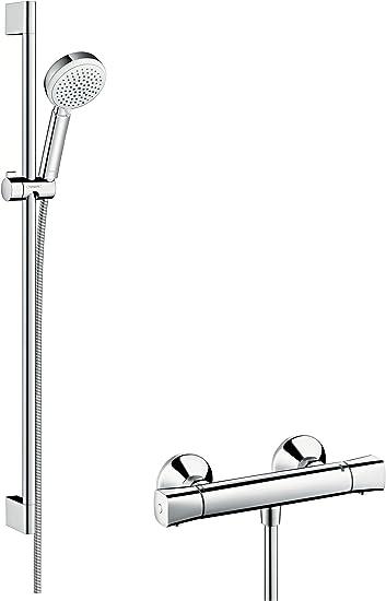 Hansgrohe 27031400 Crometta 100 Vario combinación de set de ducha ...