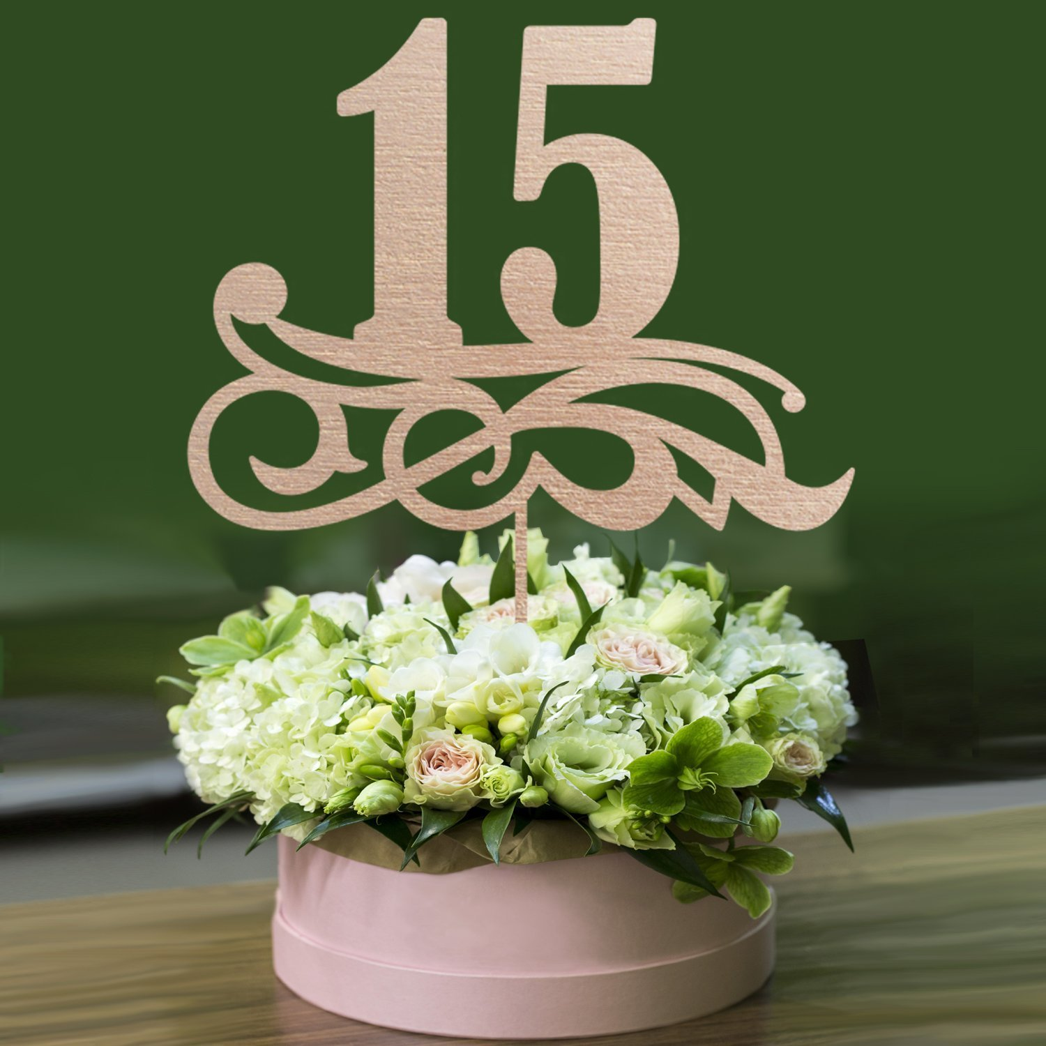 WEDDING TABLE NUMBERS On Sticks // Wooden Table Numbers - Reception Table Numbers For Wedding - Table Centerpiece - Wedding Decorations
