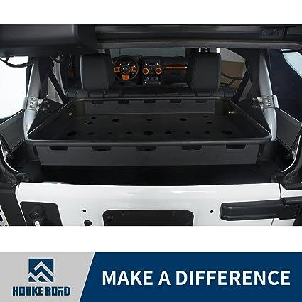 Hooke Road Jeep JK Interior Cargo Rack For 2007 2018 Jeep Wrangler JK  Unlimited (