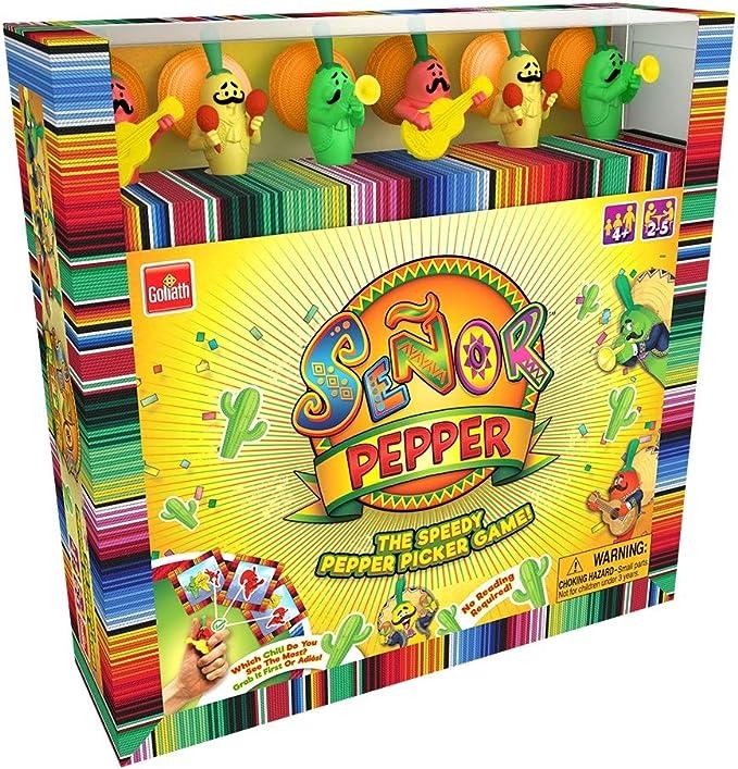 University Games Señor Pimienta Juego: Amazon.es: Juguetes y juegos