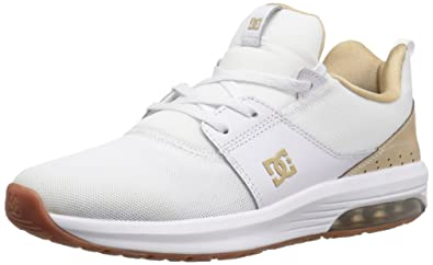 DC Womens Heathrow IA Skateboarding Shoe, White, ...