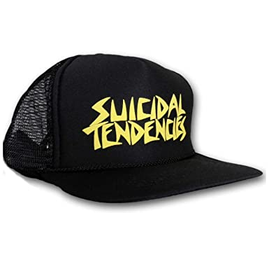 98ad484d638 Image Unavailable. Image not available for. Color  SMC Official Suicidal  Tendencies OG Flip up Hat Cap Trucker ...