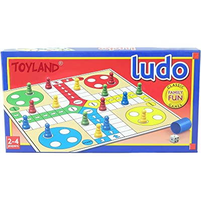 Toyland M.Y Traditional Games - Ludo - Classic Family Fun Games: Toys & Games