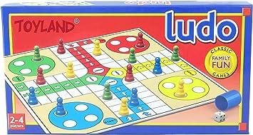 TOYLAND® Traditional Games - Ludo - Juegos Divertidos para la Familia clásica: Amazon.es: Juguetes y juegos