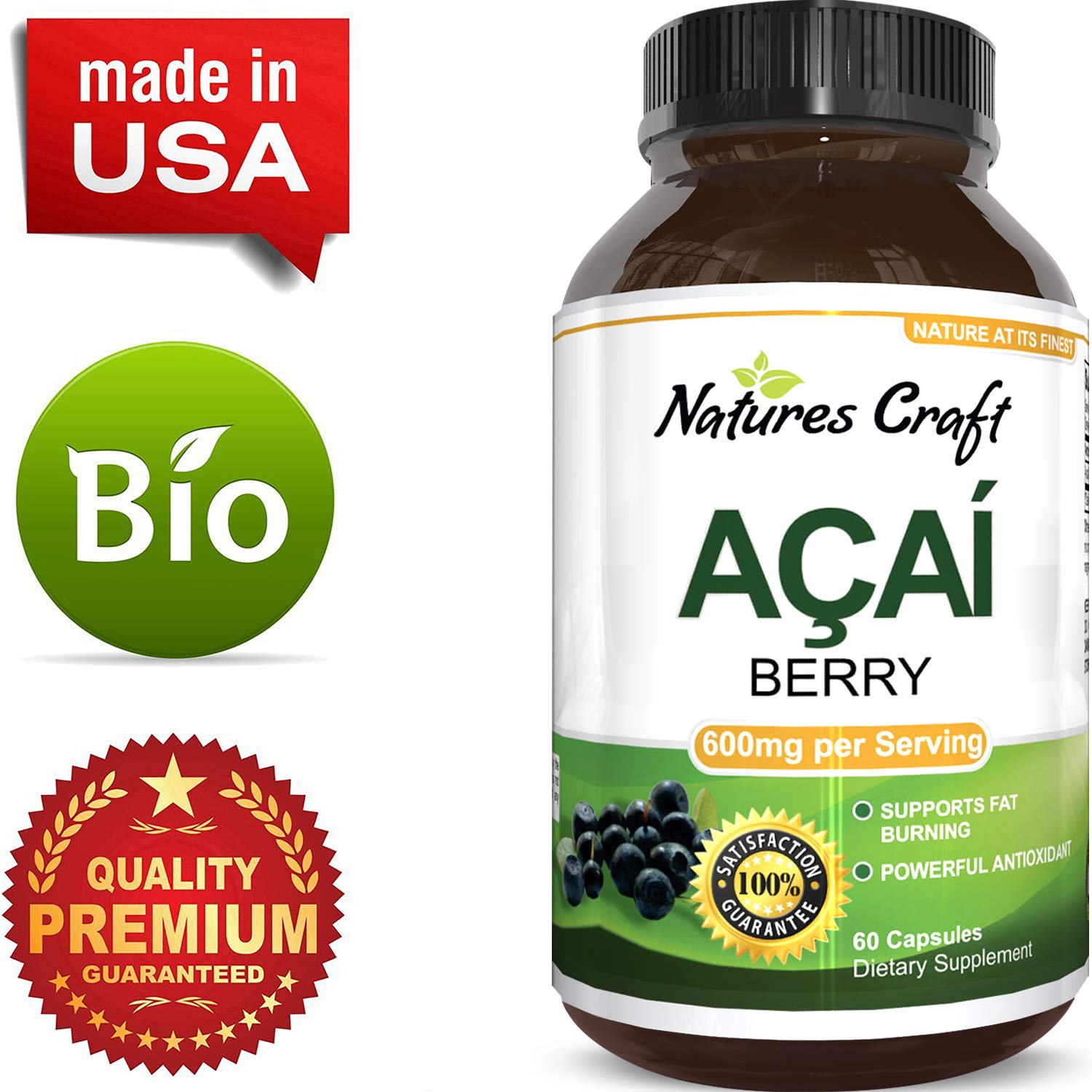 natural acai berry dietary supplement