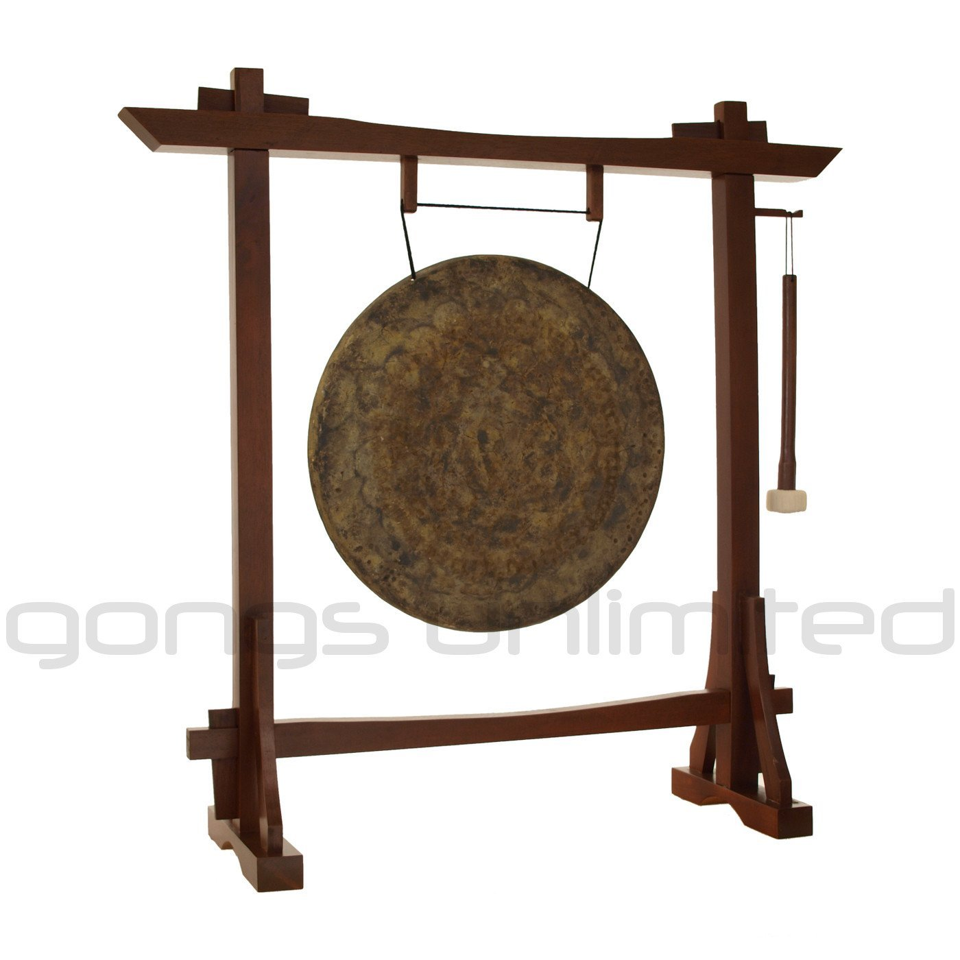 22'' Gongs on the Modern Antique Gong Stand
