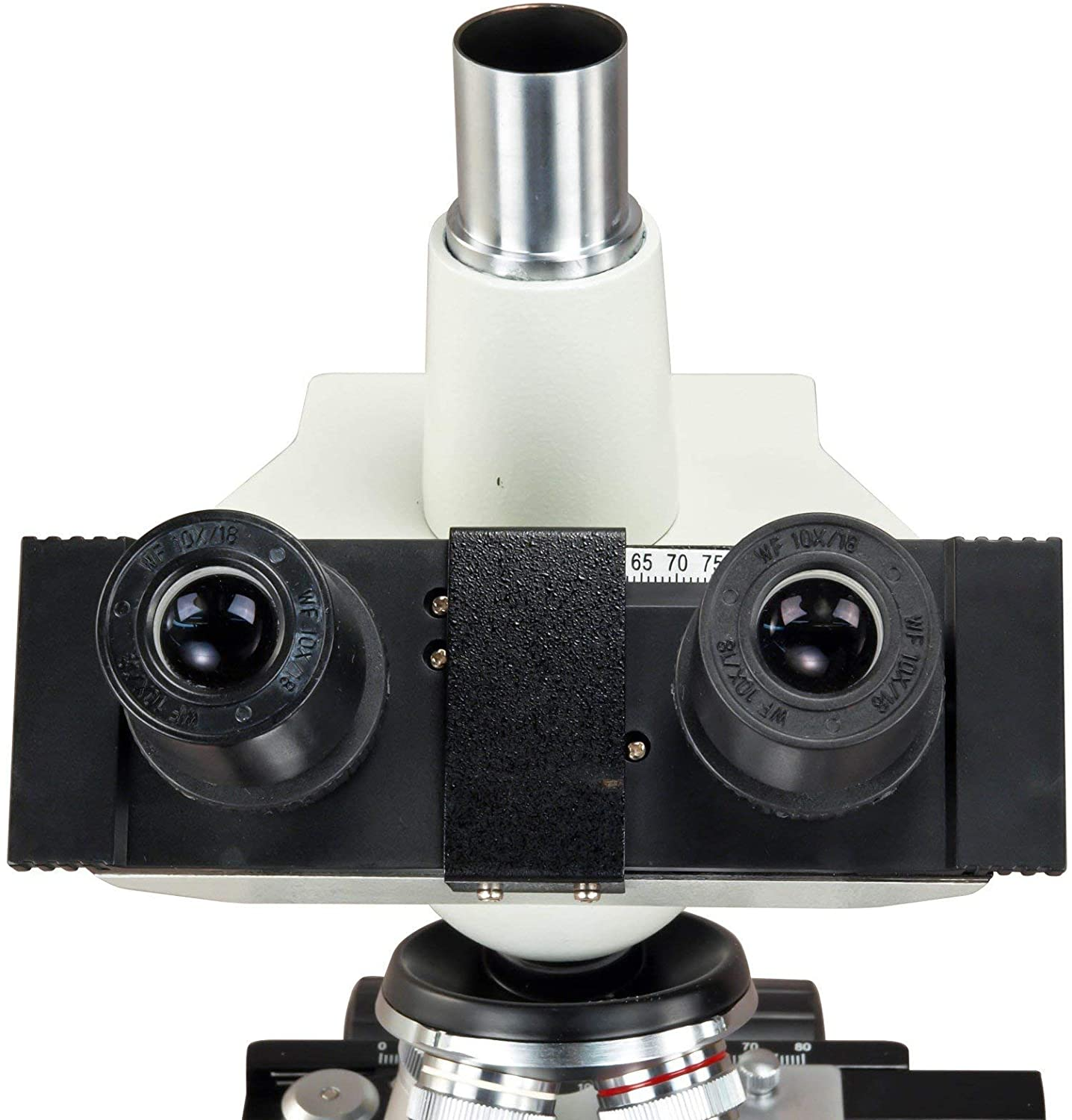 OMAX 40X-2500X Digital Lab Trinocular Compound LED Microscope with USB Digital Camera and Double Layer Mechanical Stage