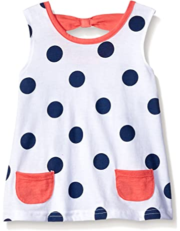 1c7e38f4ed5 Gerber Graduates Baby Girls  Sleeveless Top with Bow Back