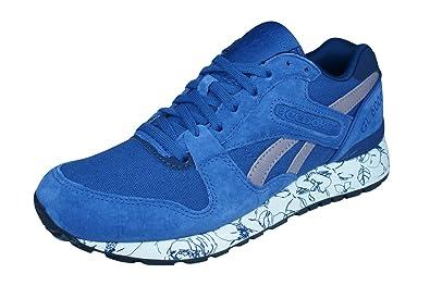 216147e9e43c0 Reebok Classic GL 6000 Wrap Womens Sneakers Shoes-Blue-6.5