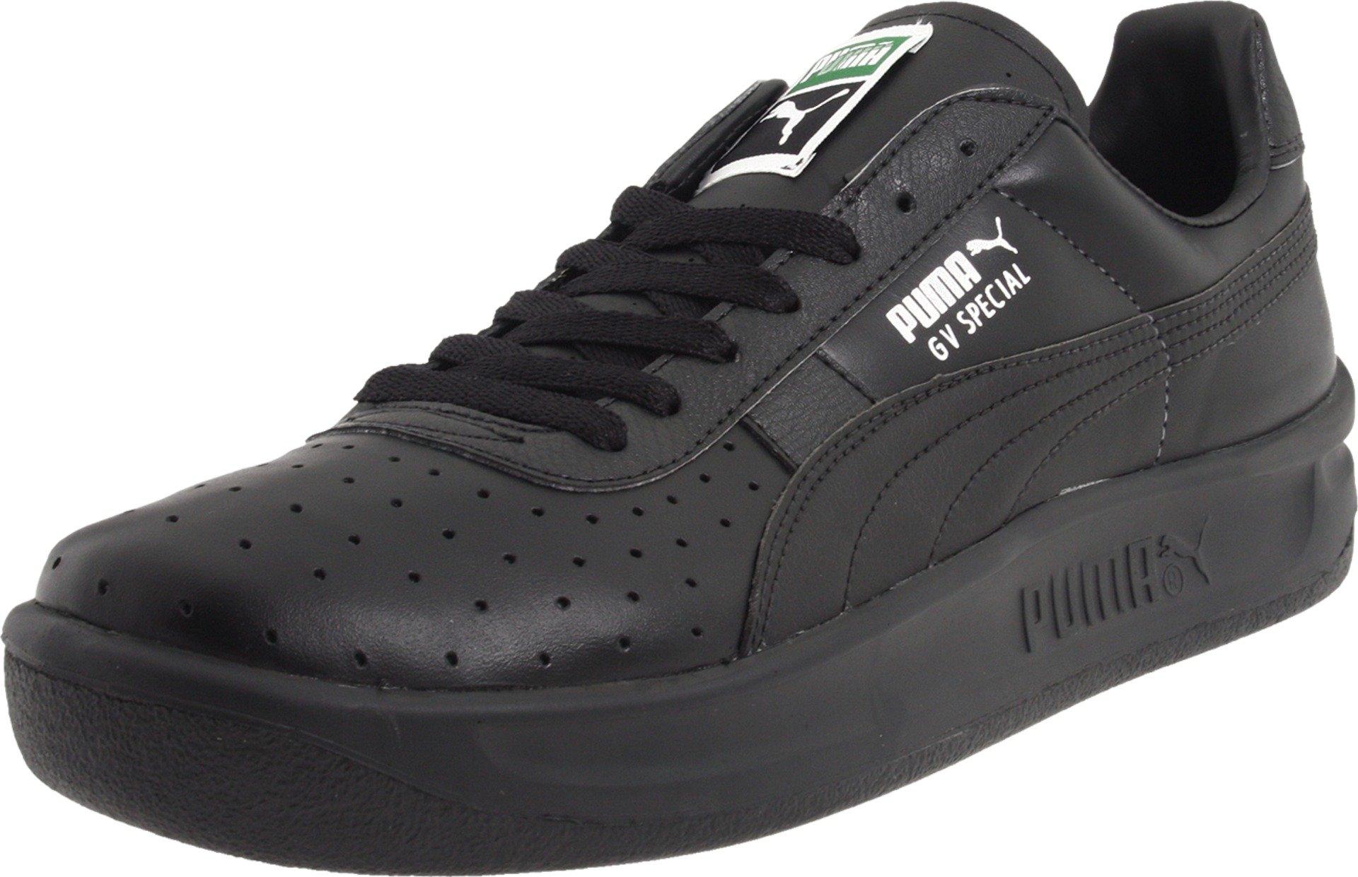 PUMA Men's GV Special Lace-Up Fashion Sneaker, Black/Black, 8.5 M US