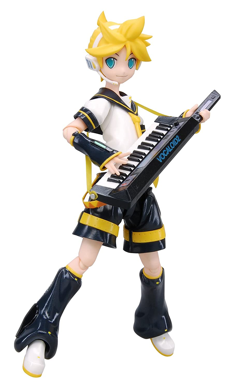 Good Smile Vocaloid Kagamine Len Figma Action Figure Max Factory 4545784060612