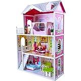 Puppenhaus Angels Country House aus Holz mit Möbeln