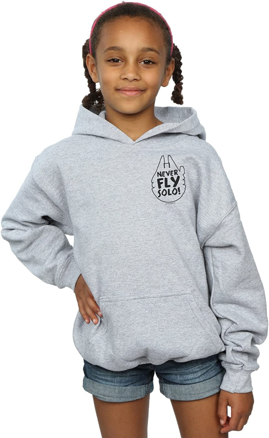 Star Wars Girls Never Fly Solo Hoodie