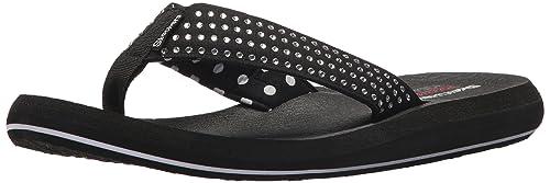 77790128e2e1 Skechers Cali Women s Asana-New Age Flip-Flop