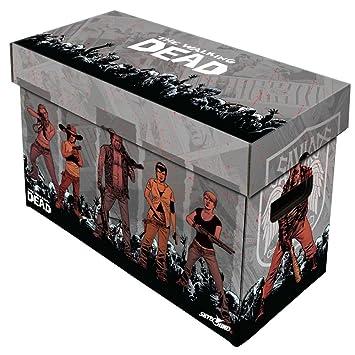 SkyBound Comic - Caja de almacenaje de cartón con diseño de cómic, capacidad para 150 - 175 cómics: Amazon.es: Juguetes y juegos