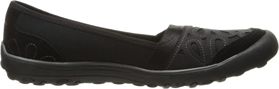 Skechers 49270 Women/'s Earth Fest Sneaker Flats Charcoal