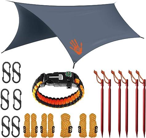 Rain Fly EVOLUTION 12x10/10x10 Hammock Waterproof Tent Tarp