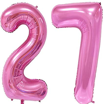 40inch Red Foil 13 Helium Jumbo Digital Number Balloons 13th Birthday Decoration For Girls Or
