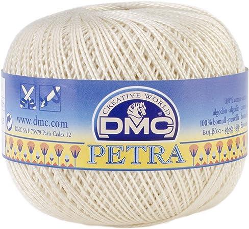 DMC//Petra Crochet Cotton Thread Size 3-Ecru