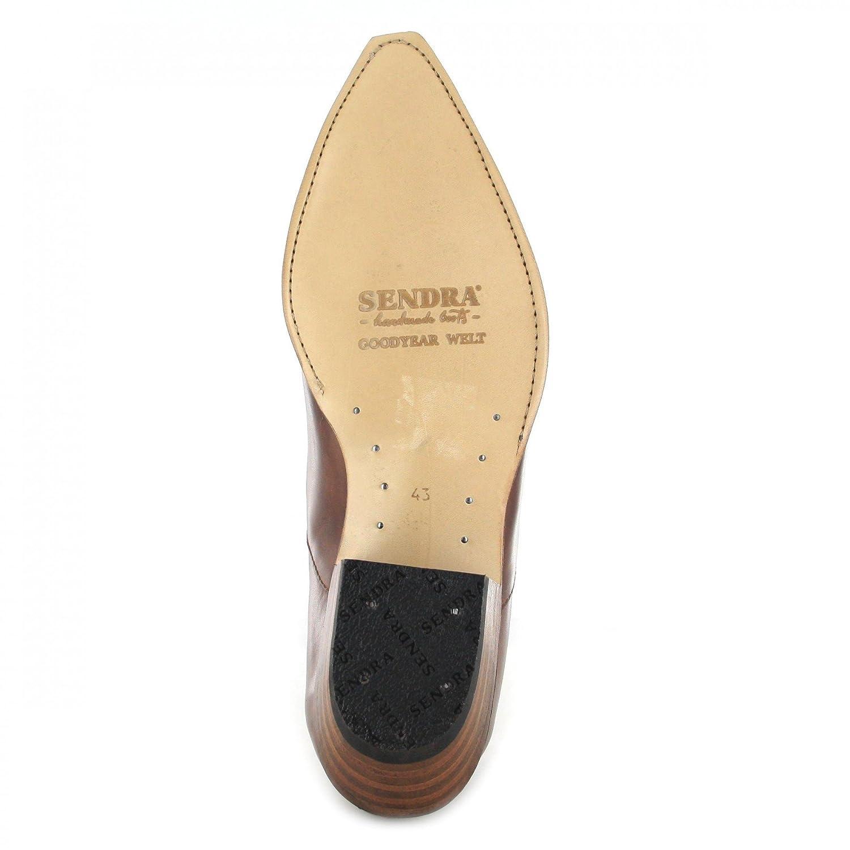 Marronmessieurs Basses Chaussureschaussures Western Marronmonsieur 4133 540 Sendra Chaussures Bottes Femme 80mNnw