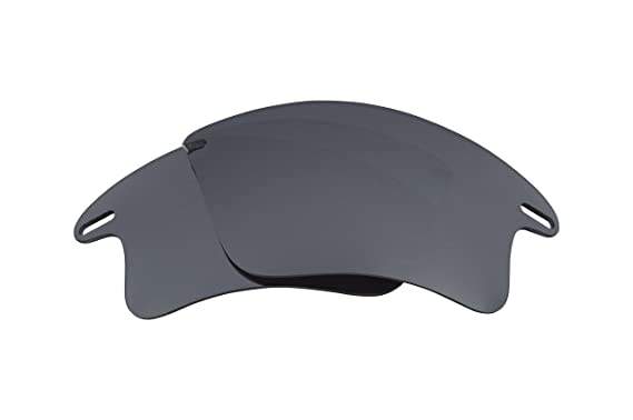 e55344f11dc Best SEEK Polarized Replacement Lenses for Oakley FAST JACKET XL Silver  Mirror  Amazon.co.uk  Clothing