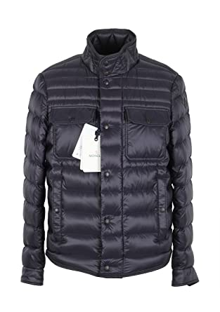 Moncler CL Blue Forbin Quilted Down Jacket Coat Size 1/S/46/36