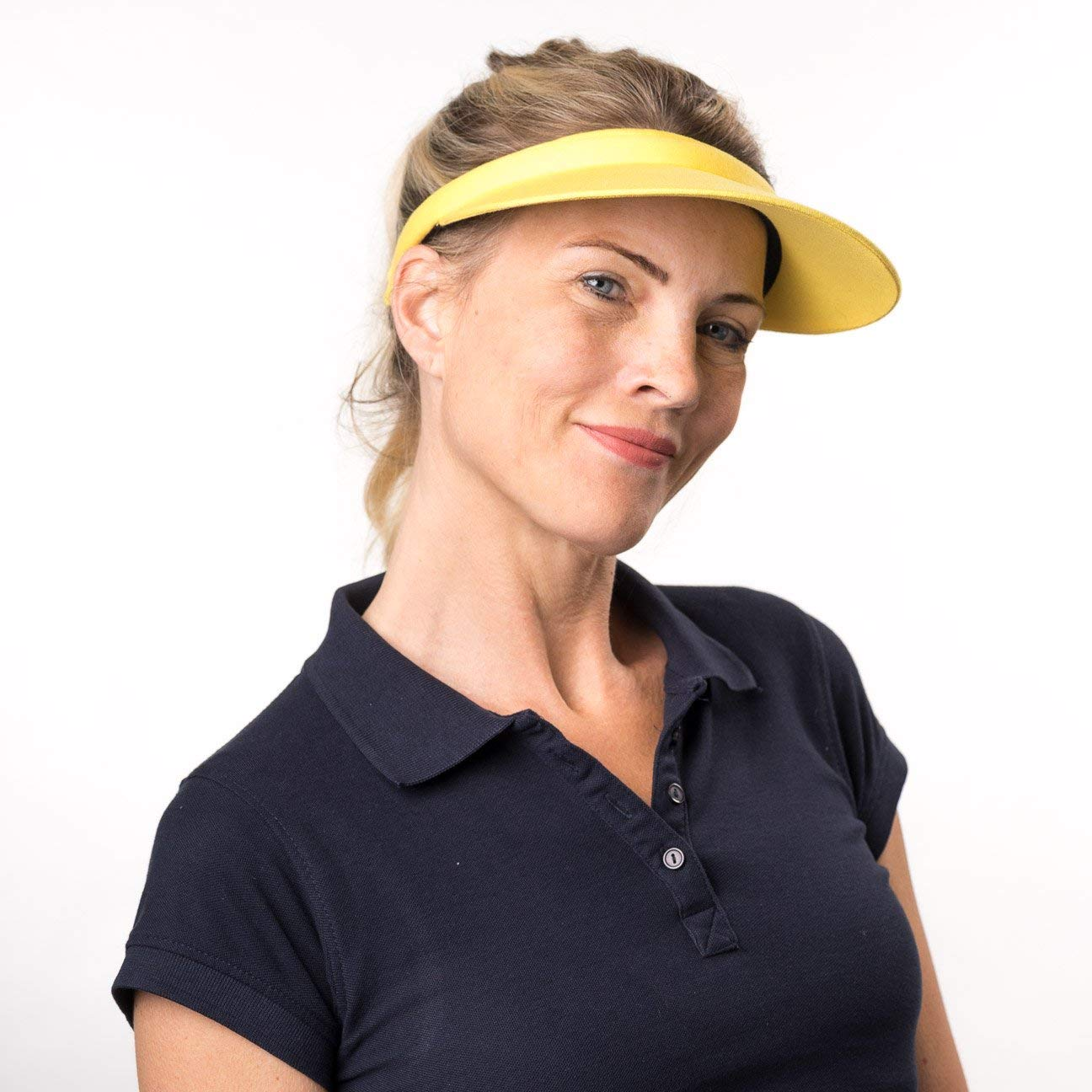 f1af3c8a172116 Seeberger Women's Visor - Grey - One Size: Amazon.co.uk: Clothing