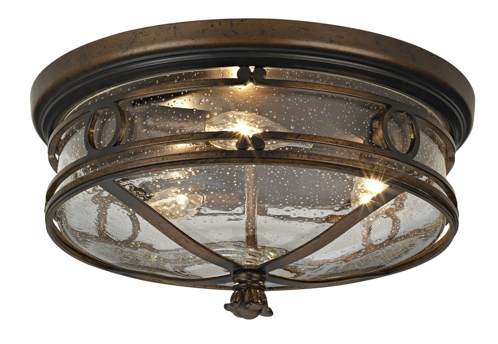 Beverly Drive 14'' Wide Indoor-Outdoor Ceiling Light by John Timberland
