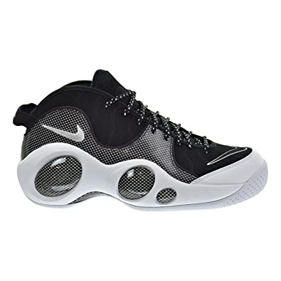 Nike Air Zoom Flight 95 SE Mens Shoes BlackWhiteMetallic Silver 806404