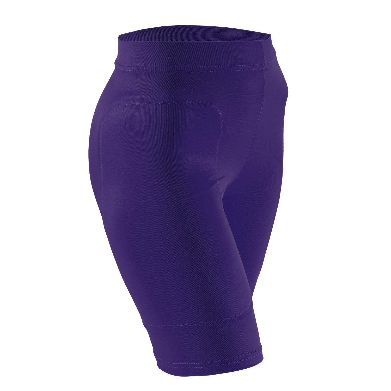 Adams Women's Compress Sliding Shorts, Purple, X-Small Adams USA W899-XS-P-R